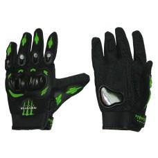 Мотоперчатки   Монстр  чёрные, размер M
