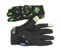 "Мотоперчатки Monster Energy ""сенсор"" чёрные, размер L"