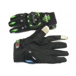 """Мотоперчатки   Монстр  """"сенсор"""" чёрные, размер XL"""