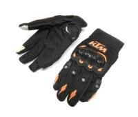 """Мотоперчатки KTM """"сенсор"""" чёрные, размер  XXL"""