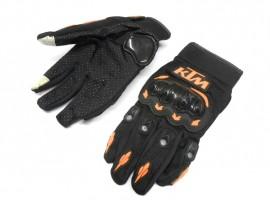 """Мотоперчатки KTM """"сенсор"""" чёрные, размер M"""
