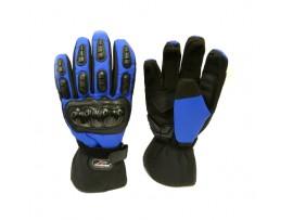 Мотоперчатки зимние Mad Bike TF-01 синие, размер XL