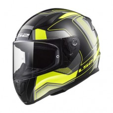 Мотошлем LS2 FF353 Rapid Carrera HI-Vis Black/Yellow/Grey, размер M