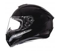 Мотошлем MT Targo Solid Black Gloss, розмір M