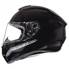 Мотошлем MT Targo Solid Black Gloss,  размер M