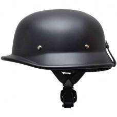 Каска немецкая матовая черная, размер L