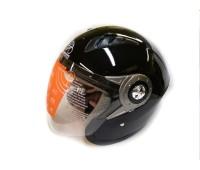 Мотошлем без челюсти MoтоTech WLT-202 черный, размер XL