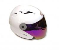 Мотошлем без челюсти MoтоTech HF-210 белый, размер S