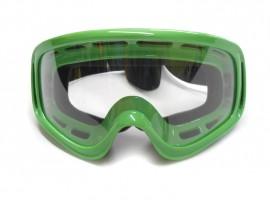 Мотоочки кроссовые Vega MJ-01,  зеленые