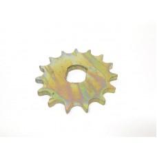 Звезда моторная обычная 4-скоростная 15 зуб на мопед  Simson