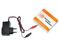 Зарядний пристрій для мото акумулятора 12В 1A OUTDO