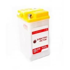 Мото аккумулятор  6v 9а 3МТ-9  ЭлектроИсток