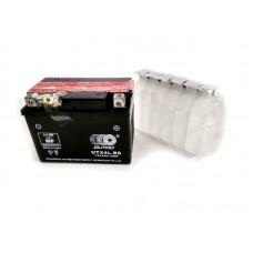Аккумулятор на скутер 12v3a клем коробка  UTX4L-BS(c электролитом) OUTDO