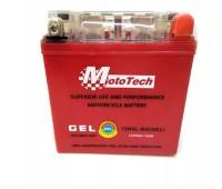 Мото аккумулятор  12v5a клема короб.12N5L-BS(GEL) MotoTech