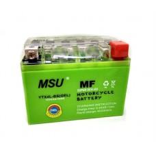 Аккумулятор гелевый  12v4a клем коробка  YTX4L-BS(GEL)  MSU