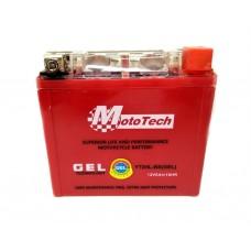 Аккумулятор для скутера 12В5А YTX5L-BS  клем коробка   (GEL)