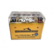 Гелевый аккумулятор на скутер 12v4a клем коробка  YTX4L-BS(GEL) Kurosawa (МotoТech)