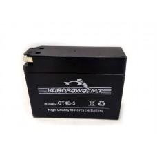 Аккумулятор для скутера 12v2,3a таблетка тонкая GT4B-5 Yamaha\Suzuki Kurosawa (МotoТech)