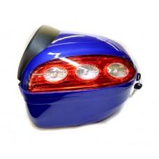 Кофр на скутер ZH-B00E abs  синий