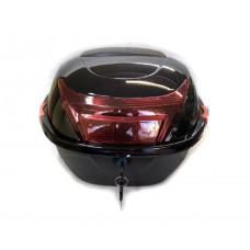 Кофр для мотоцикла ZX-015, чорний