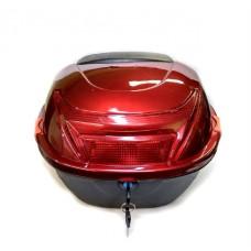 Кофр для скутера ZX-015, красный