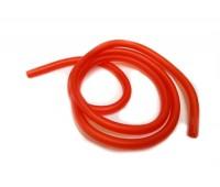 Шланг бензиновый силиконовый красный  1 м