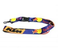 Шнурок на шею для ключей KTM - Red Bull