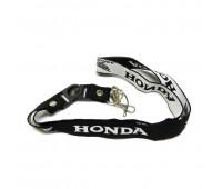 Шнурок на шею для ключей Honda, черный 001