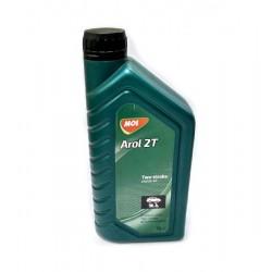 Мото масло MOL Arol 2T 1л (минералка)