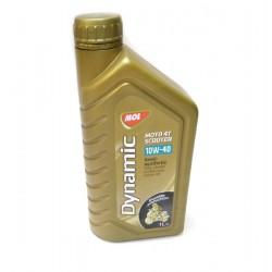 Масло MOL DinamicMoto 4T 10w40 полусинтетика1Л (упаковка 8 шт)