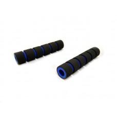 Неопреновие гріпси гальма / зчеплення, чорно-синього кольору (к-т 2 шт)
