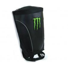 Моторюкзак Monster Energy с дождевиком, черный