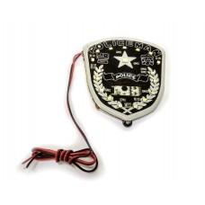 """Подсветка на мотоцикл светодиодная панель """"POLICE"""" (JC  2083)"""