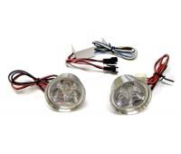 Стробоскопы на мотоцикл JC-606 диодный красный свет