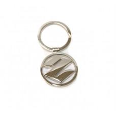 Брелок для ключей Suzuki, хромированный