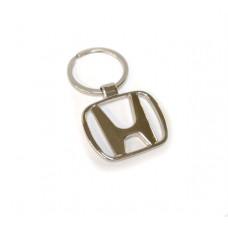 Брелок для ключей авто Honda, хромированный
