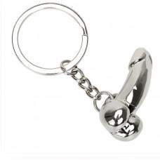 """Брелок для ключей """"Пацан"""", хромированный"""