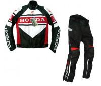 Мотокостюм Honda черный, размер 3XL