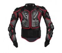 Моточерепаха FOX 2 Titan черно-красная, размер 2XL