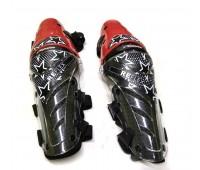 Мото наколенники шарнирные Alpinestars Reflex, чёрно-красные