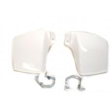 Защита рук на руль скутера  Yamaha GEAR , белая  (к-т 2 штуки)