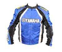 Текстильная мотокуртка Yamaha Rocket, черно-синяя, размер L