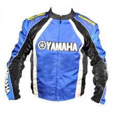 Текстильна мотокуртка Yamaha Rocket, чорно-синя, розмір L