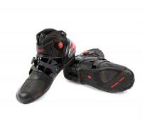Мото кроссовки  PRO-9003 черные, 45 размер