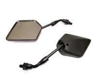 Зеркала на скутер  V200R (YX-04) 8 мм чёрные , (к-т 2 штуки)
