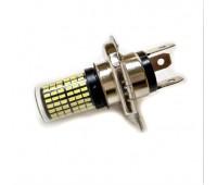 Лампа фары светодиодная H4 24w (126+18 диода)