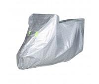 Чехол для мотоцикла Серебрянка солнцезащитная (без ушей), размер 2XL