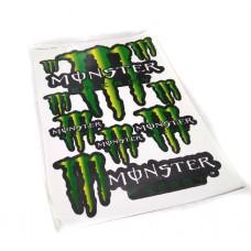 """Наклейка """"Monster Energy"""" 5955 (лист А3)"""