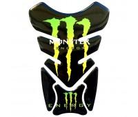 """Наклейка на бак мотоцикла """"Монстр"""" (GV-083)"""