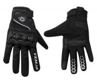 Мотоперчатки VEMAR чёрные, размер S (VE-190)